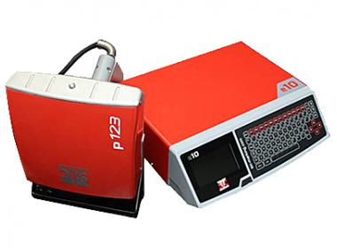 Портативный маркиратор e10D-p123, окно 120х25мм, кабель 7.5м, глубокая маркировка