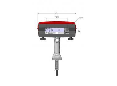 Маркировочная голова для e10-p123, окно 120х40 мм