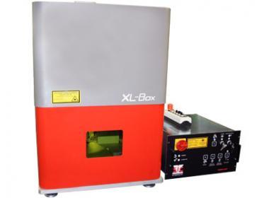 Стационарный лазерный маркиратор XLBOX, окно 170х170мм, мощность 20Вт