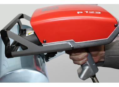 Портативный маркиратор e10-p123, окно 120х25мм, кабель 7.5м, электромагнитный прижим (2 магнита)