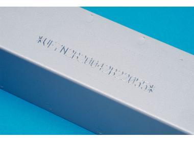 Интегрируемый маркиратор e10R-i113S-30, окно 110х60мм, прочерчивание, поршень d=30мм